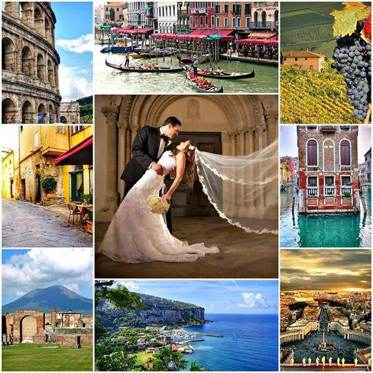 Italy Honeymoon Bliss