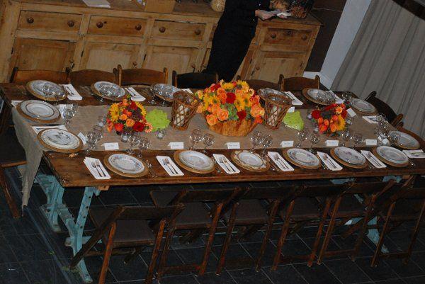 Tmx 1327093144087 Millstonefarmtable2 Norwalk wedding rental