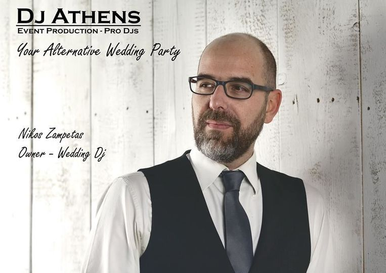 Wedding Djs in Greece / Dj Athens Wedding Parties in Greece / Dj Nikos Zampetas