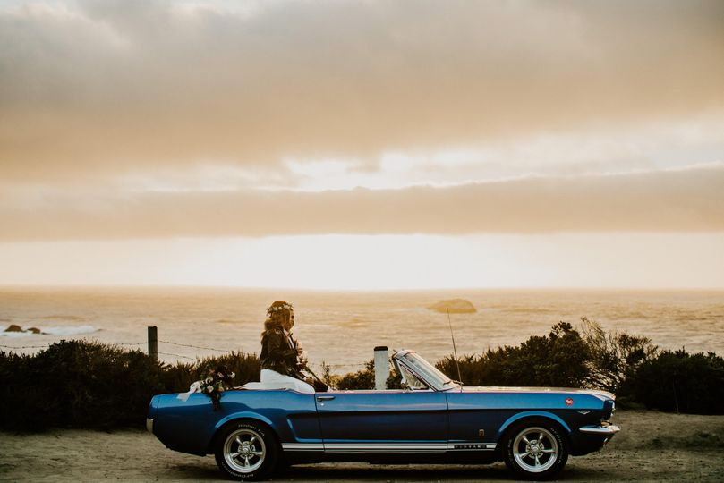 1965 Mustang GT in Big Sur