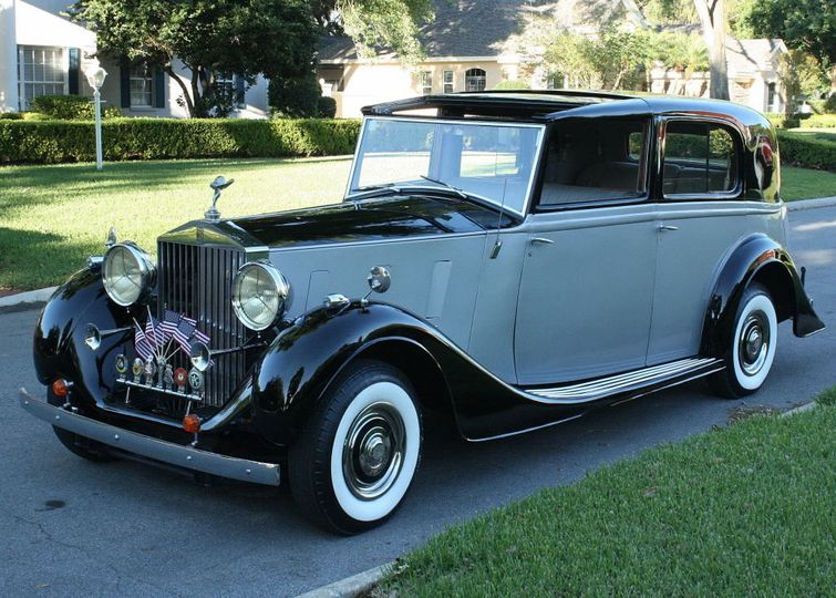 1938 Rolls Royce Phantom III Limo