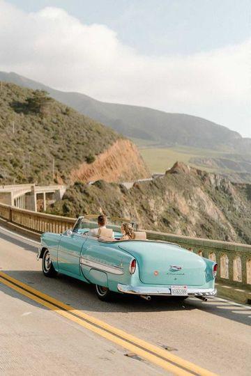 '54 Bel Air in Big Sur