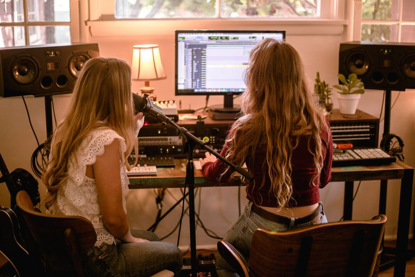 Recording vocals!