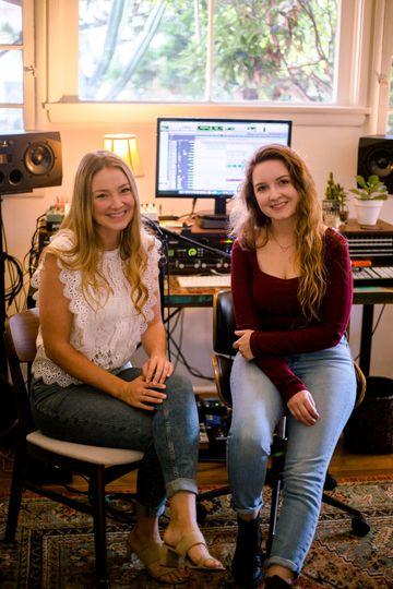 Studio time together