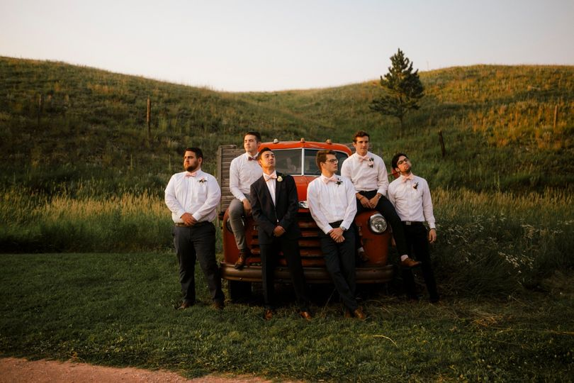 Wedding on the Prairie