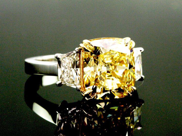 Tmx 1365189742123 Yellowdiamondring Houston wedding jewelry