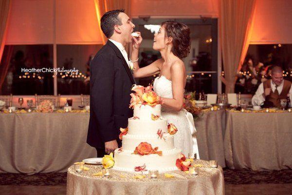 Eating of cake