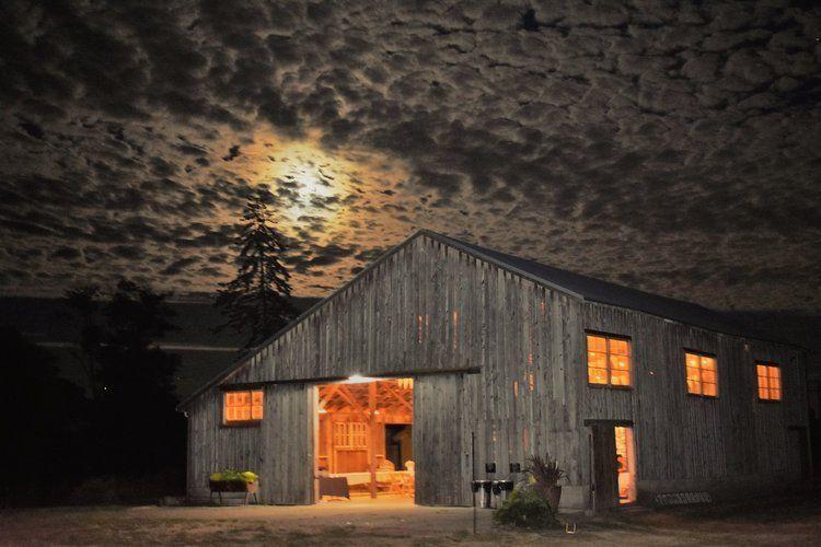 The Saltbox Barn on Fir Island