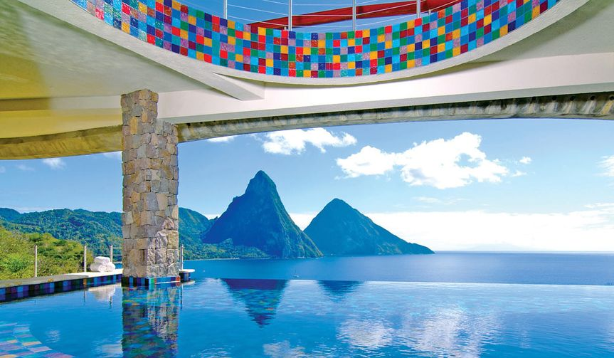 St. Lucia Jade Mountain
