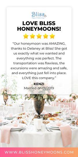 Love Bliss Honeymoons!