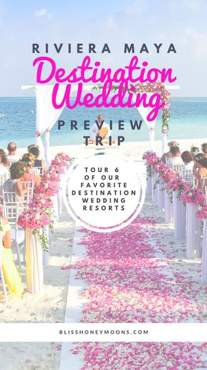 Wedding preview trips