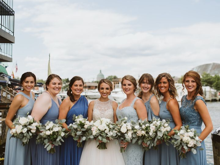 Tmx Pleasant Bridal Party 016 51 8951 Annapolis, MD wedding venue