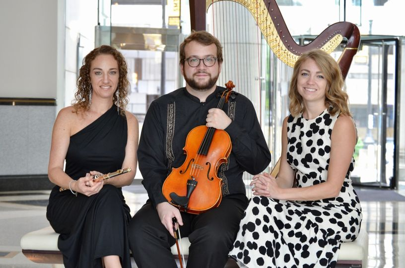 With the Lagniappe Trio