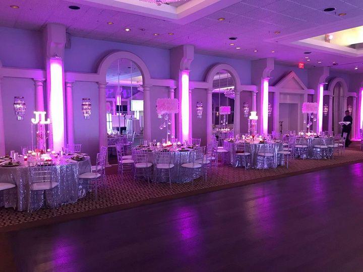 LED lighting around the room