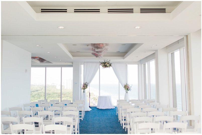 Broward beach wedding