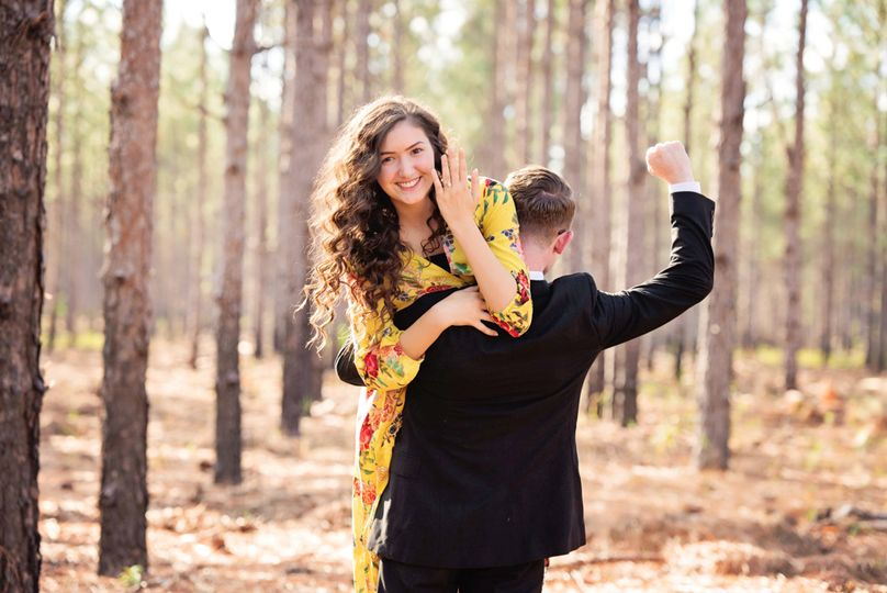 Fun styled engagement sessions