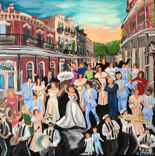 Vibrant paintings