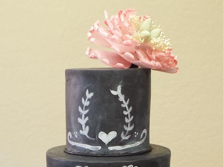 Tmx 1434399420453 Chalkboard Cake Lebanon wedding cake