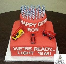 Tmx 1434399857377 50th Birthday Lebanon wedding cake