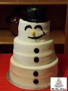 Tmx 1434399901062 Frosty The Snowman Cake Lebanon wedding cake