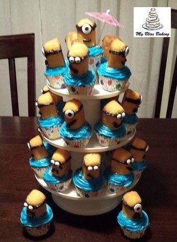 Tmx 1434399923114 Minion Cupcakes Lebanon wedding cake