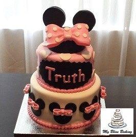 Tmx 1434399934849 Minnie Birthday Cake Lebanon wedding cake