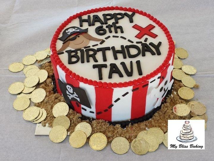 Tmx 1434399938454 Pirate Birthday Cake Lebanon wedding cake