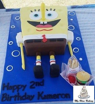 Tmx 1434399952799 Spongebob Lebanon wedding cake