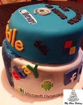 Tmx 1434399971175 Work Anniversary Cake Lebanon wedding cake
