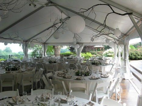 Your dining Tent, surrounded by Mother Nature!