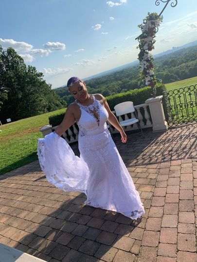 Marcus' bride, Jasmine!