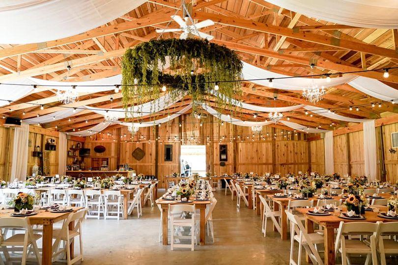 Decorated Reception Hall