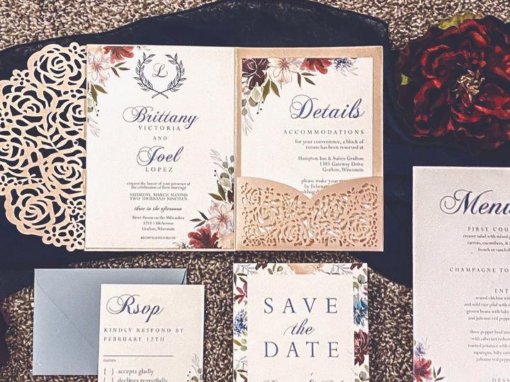 Tmx Site2artboard 152x 100 51 1012061 161229648685057 Brookfield, WI wedding invitation