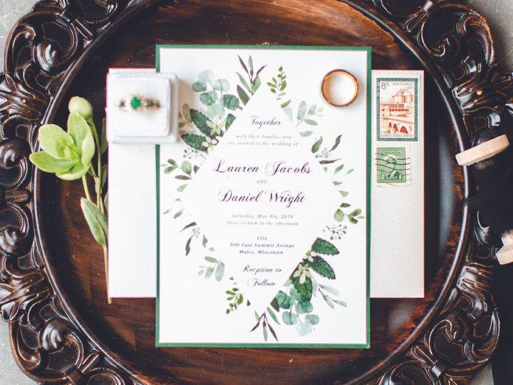 Tmx Site2artboard 32x 100 51 1012061 161229652038243 Brookfield, WI wedding invitation