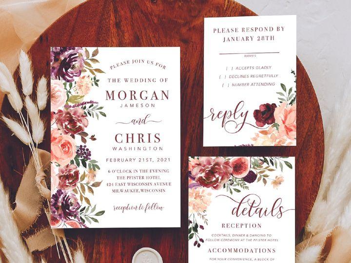 Tmx Site3artboard 142x 100 51 1012061 161229644044530 Brookfield, WI wedding invitation