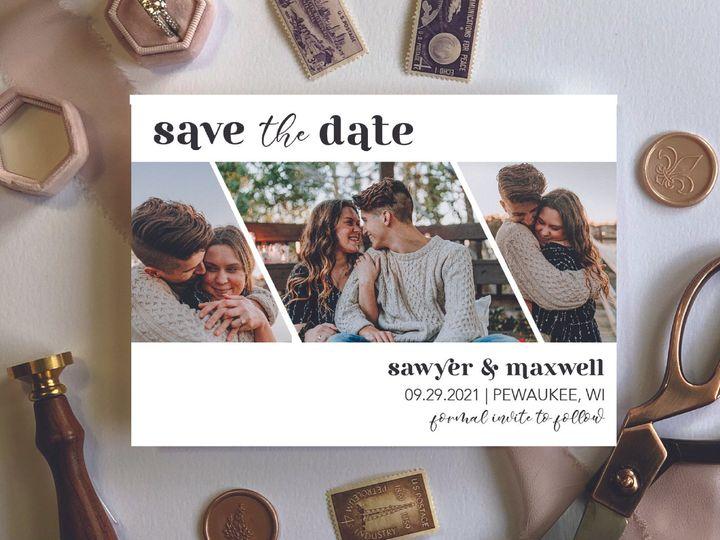Tmx Site3artboard 152x 100 51 1012061 161229643717960 Brookfield, WI wedding invitation