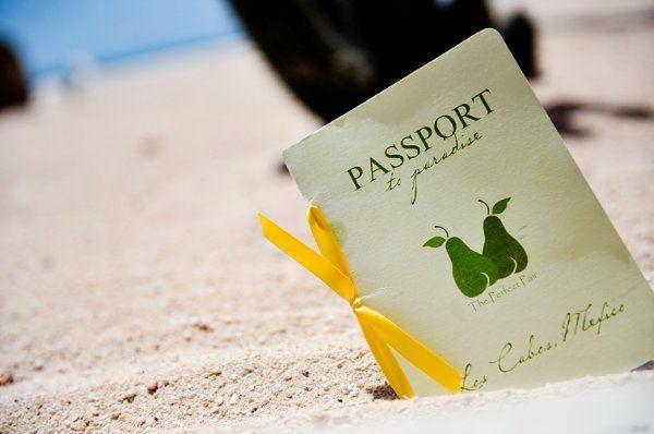 Passport to paradise.