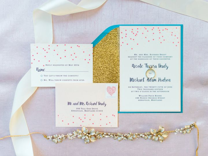 Tmx 1484065775903 Throw The Confetti Full Gallery 0013 Annapolis wedding invitation
