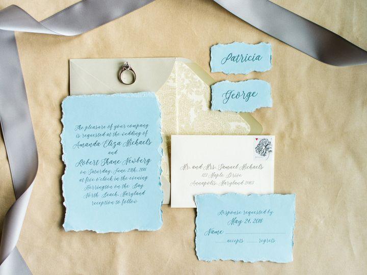 Tmx 1484065866376 Rts Styled Shoot Sneak Peeks 0001 Annapolis wedding invitation