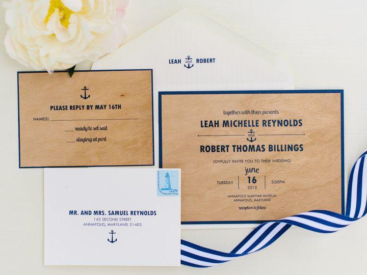 Tmx 1484065902323 Natural Nautical Styled Shoot Full Gallery 0014 Annapolis wedding invitation