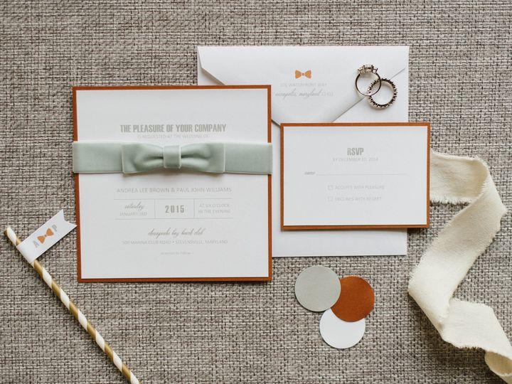 Tmx 1484065954306 Bowties Bubbly Shoot Natalie S Favorites 0006 Annapolis wedding invitation