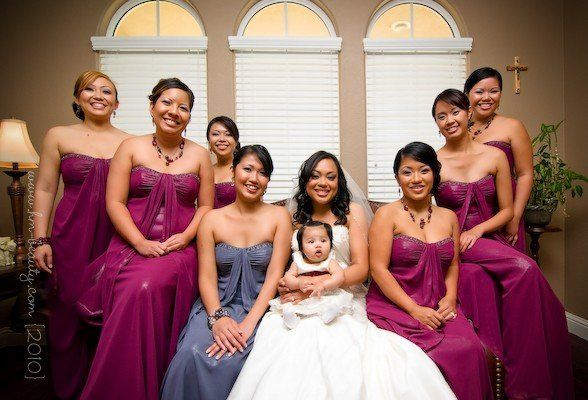 Bridal Wedding Party - Rancho Cordova, Ca Photography by: RonAllen Imagery