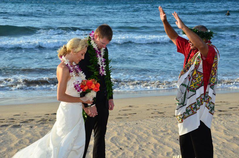 Hawaiian wedding blessing