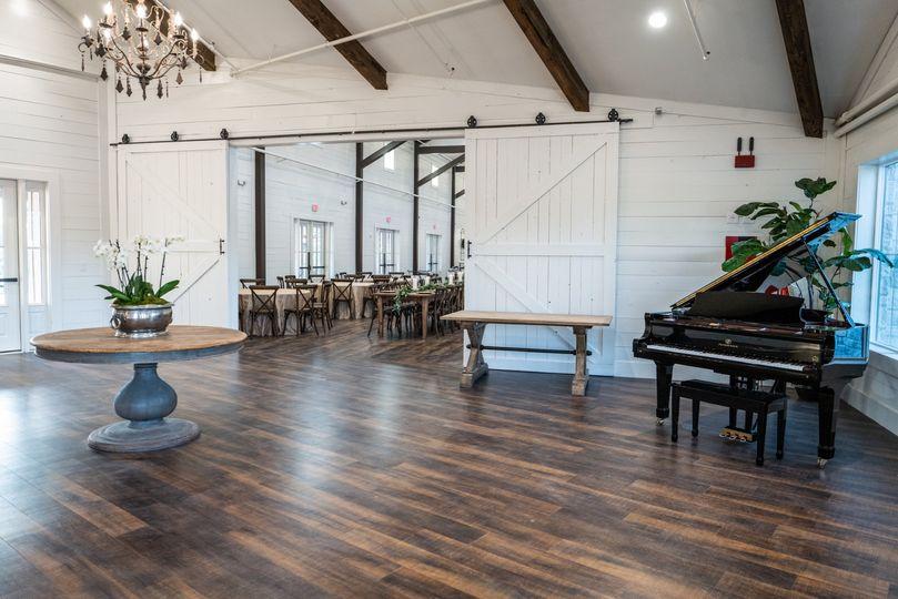 Grand Piano in Foyer