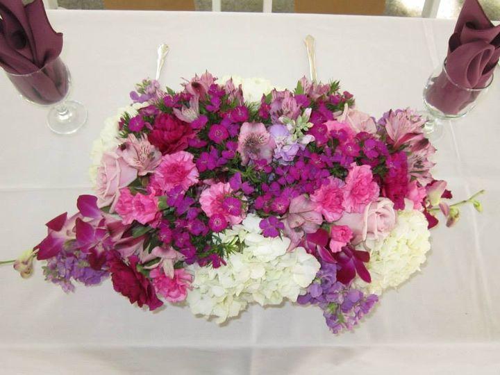 Tmx 1434550452109 Table Flowers Plainfield wedding planner