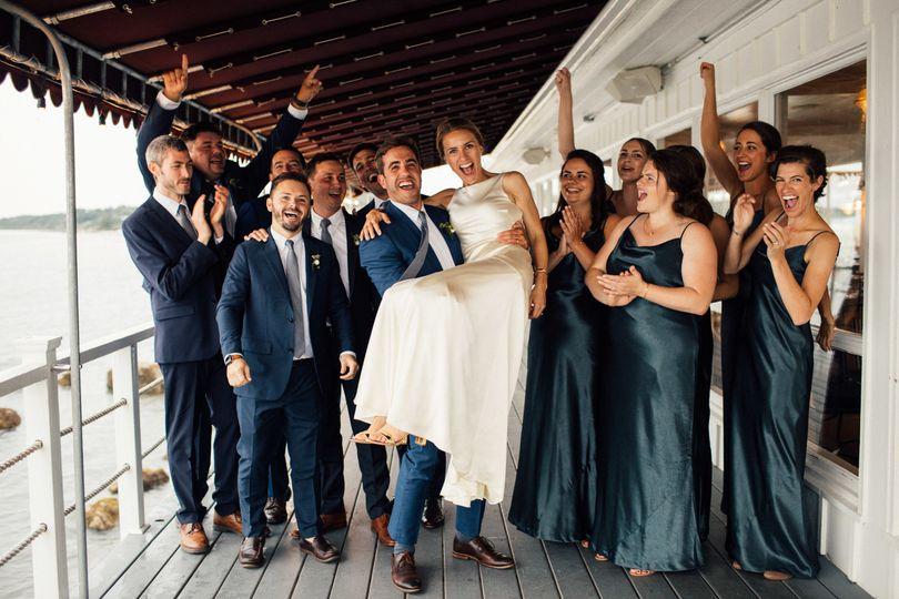 Group Shot on Halyard Deck