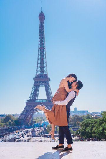 Anniversary Paris Photo Shoot