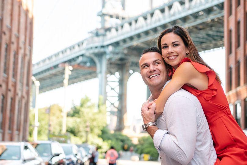 Dumbo Brooklyn Couple Shoot