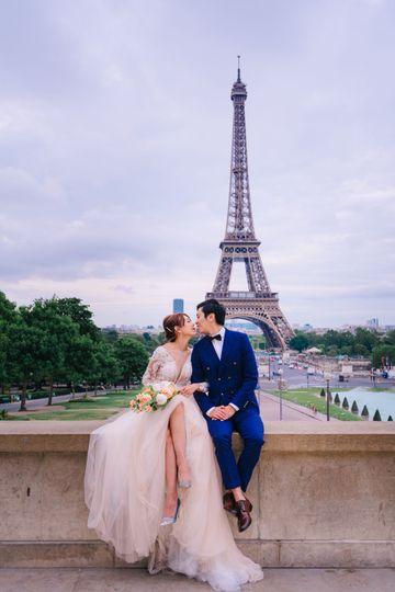 Paris pre-wedding
