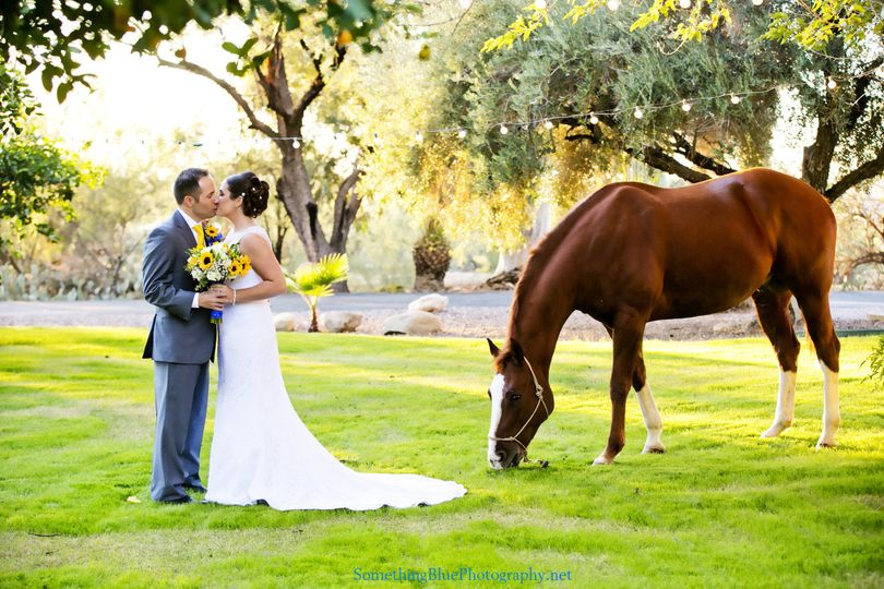 The ranch wedding